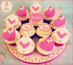 Bride to Be Cupcakes