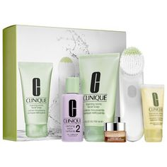 CLINIQUE - Sonic Brush Set #sephora