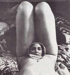 One of my favorite photographs. Self Portrait by Armen Susan Ordjanian from 'The Blatant Image: A magazine of feminist photography' no. 1, 1981