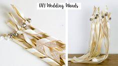 DIY WEDDING WANDS - Rustic wedding, Neutral wedding decor, DIY Wedding
