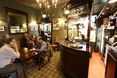 Without Prejudice recommends this old school bar. Blending perfectly with the second-hand bookstores and other arcana along this lovely, narrow pedestrianised passage, this imposing but welcoming Young's pub has benefited from a 2007 refit that spruced it up without draining its character.