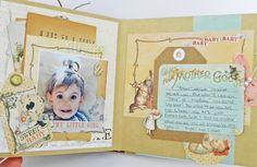 Prima Bedtime Story Mini Album - Scrapbook.com