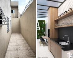 dirty kitchen and laundry Dirty Kitchen Design, Outdoor Kitchen Design, Home Decor Kitchen, Kitchen Designs, Dirty Kitchen Ideas, Outdoor Laundry Rooms, Outdoor Patio Designs, Small Porches, Minimalist Home