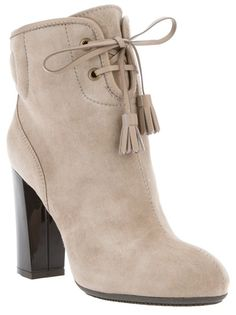 HOGAN Ankle Boot Bege.