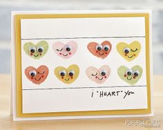 "I ""Heart"" You Card by @Jaclyn Miller"