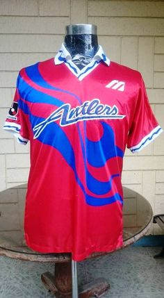 fe8ab8a1d92a5a KASHIMA ANTLERS 1993-1994 EMPEROR'S & J-LEAGUE CUP SHIRT ... visit...  www.vintagesoccerjersey.com. Classic soccer jersey shirt