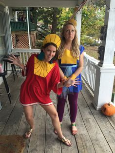 Halloween ideas- Kuzco and Kronk from The Emperor's New Groove