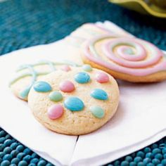 Adorable, tasty homemade Easter Egg Cookies | CookingLight.com
