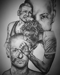 @chesterbe Chester Bennington drawing as a birthday present for one of my best friends 😊 #chesterbennington #linkinpark #drawing #art #shading #portrait #blackandwhite #pencildrawing #sketch #rock #metal #music