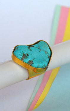 Ring-Turquoise-Minti Accesorios