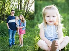 Palatine Family Photographer - Chicago Family Photography - This summer photo session was gorgeous during golden hour!