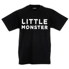 Black little monster children's t-shirt! 👻