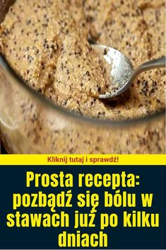 Prosta recepta: pozbądź się bólu w stawach już po kilku dniach Polish Recipes, Remedies, Medical, Vegetables, Health, Food, Therapy, Health Care, Hoods