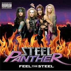 Steel Panther....not for young ears....very funny parody!  Great musicians, better than many from the 80's.