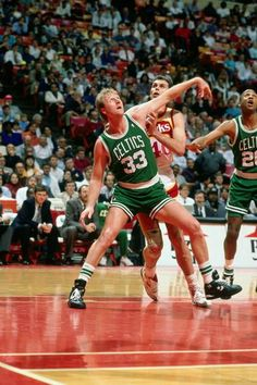 Larry Bird's #33 jersey was retired 22 years ago!!! :-)