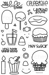 Sugar Rush stamp set by Paper Smooches