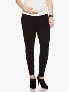 Harem Maternity Pant #ThymeBabyShower Maternity Pants, Black Jeans, Fashion, Moda, La Mode, Black Denim Jeans, Fasion, Fashion Models, Trendy Fashion