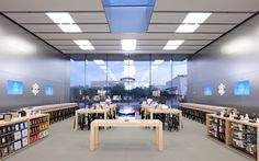Apple Store Design Layout  #applestorearchitectureretail Pinned by www.modlar.com
