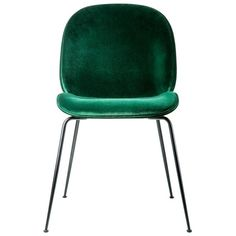 Beetle Dining Chair Green Velvet (52,600 MKD) ❤ liked on Polyvore featuring home, furniture, chairs, dining chairs, gamfratesi, velvet dining chair, outdoor dining chairs, outdoors chairs, animal furniture and outdoor chairs