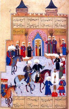 Topkapı Sarayı-Bab-I Hümayun, Şehinşehname-Nakkaş Osman