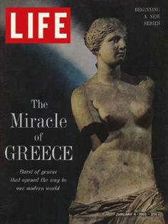 """""""Life"""" January 1963  ( The Miracle of Greece)"""
