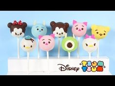 How to Make Disney Tsum Tsum Cake Pops! - YouTube