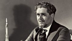 Jussi Björling, arguably the greatest lyric spinto tenor of all time. At times, I agree! Here as Rodolfo in La Boheme.