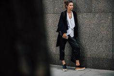 Die besten Street-Styles aus New York - Vogue.de