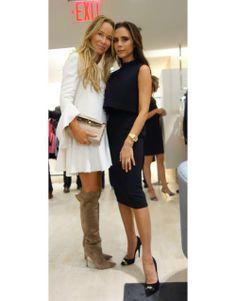 Joanna Przetakiewicz & Victoria Beckham