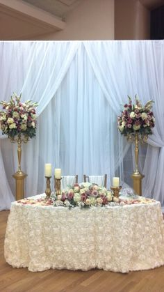 Marvelous Bride And Groom Table