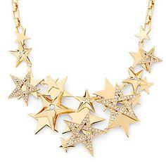 Supernova Stars Drama Necklace