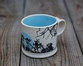 Illustrated Mug Tree Print