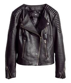 H&M Leather Biker Jacket $199