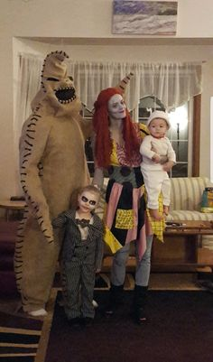 Diy family halloween costumes nightmare before christmas oogie imgur the most awesome images on the internet solutioingenieria Choice Image