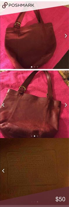 Coach vintage bucket bag. Red leather. Coach vintage bucket bag. Red leather. This bag needs TLC. It needs to be cleaned with Coach leather cleaner. Other than that, it's in good condition. This bag is over 20 years old. One of their originals. Coach Bags Shoulder Bags
