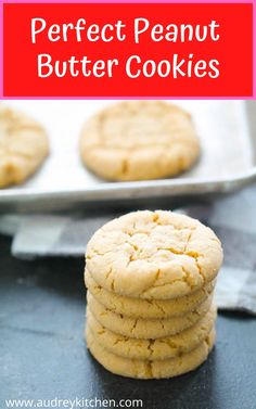Chewy Peanut Butter Cookies, Peanut Butter Recipes, Chip Cookies, Sweets, Sugar, Bread, Butter Icing, Kitchen, Desserts