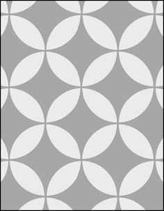 """Stencil  Size:10 x 8"""" (254 x 203mm) Price:£13.95  Information: This stencil is designed to repeat horizontally and vertically to fill the desired area. Registration guides are provided on the stencil to set up your next pattern repeat quickly and accurately. A complete circle is 100mm (4"""")."""