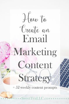 Stop stressing about what to send to your email subscribers! You don't have to create MORE content for your emails. Learn how to create an email marketing content strategy and never run out of things to share with your email list, plus learn how you can get 52 weekly content prompts!