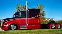 Peterbilt For a new one it looks pretty good Peterbilt 386, Custom Peterbilt, Peterbilt Trucks, Show Trucks, Big Rig Trucks, Old Trucks, Custom Big Rigs, Custom Trucks, Diesel Trucks