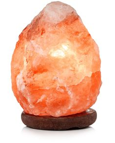 This is our smallest natural shaped pink Himalayan salt lamp. Weighing in at a minuscule 3-6 lbs, this is a great size for a cluttered office desk or for use as a night light in a small child's room.