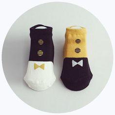 'Tuxedo' Socks Set