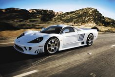 The Saleen S7 Twin Turbo is said to be America's only true supercar.  Founder Steve Saleen may have left the building, but even without the mustachioed one, the Irvine, California, car builder continues to crank out some monster machinery. The S7 has a 7.0L twin-turbo V-8 750-hp and 700 lb-ft of torque, the S7 Twin Turbo can hold its head up against pretty much anything Europe has to offer.  Zero-to-60 in 2.8 seconds and a 240 mph + top speed makes the S7 scarier than a return of Halloween…