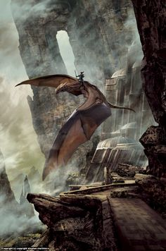 Infected By Art » dragondrum by stephan martiniere » Infected By Art Book - Volume 3 Contest