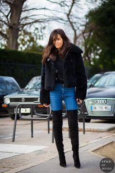 Haute Couture Spring 2016 Street Style: Barbara Martelo