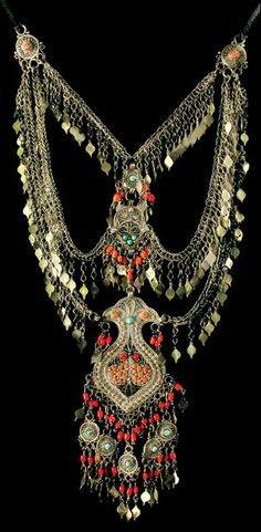 Uzbekistan   Jewellery from the collection of the Museum of Applied Arts in Tashkent   19th - 20th century