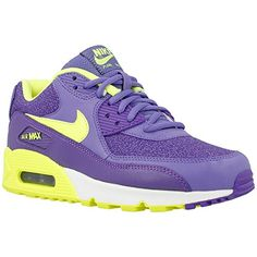 newest collection a307a 7047f Nike Air Max 90 Purple Womens Trainers