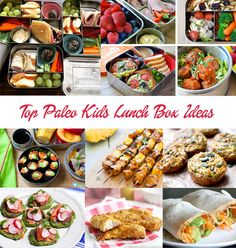 Kids need good fuel to get them through the day so we've put together best paleo and gluten free kids lunch box ideas and recipes that are nut free and nutritious. Paleo Lunch Box, Paleo Dinner, Lunch Recipes, Real Food Recipes, Scd Recipes, Savoury Recipes, Paleo Food, Paleo Appetizers, Kid Friendly Meals