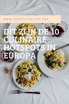 Culinaire Europese hotspots
