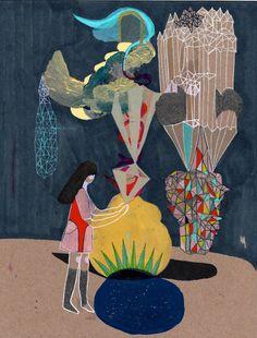 Kimi Pryor   Abstract Visions inspiration