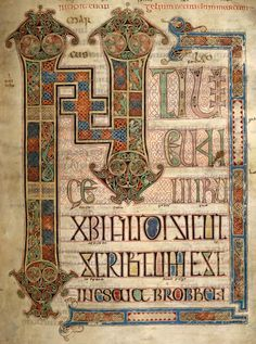 the lindesfarne gospels | BabelStone Blog : The Staffordshire Hoard : Anglo-Saxon Epigraphy and ...